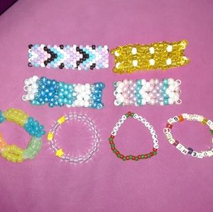 Jewelry - kandi bracelet bundle